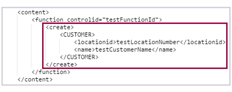 create function for customer object
