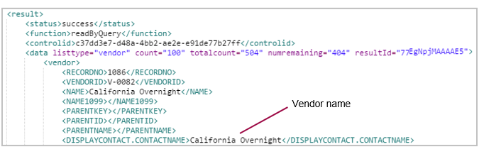 Your First XML API Calls | Sage Intacct Developer